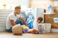 How to clean and sanitize your washing machine and dryer.